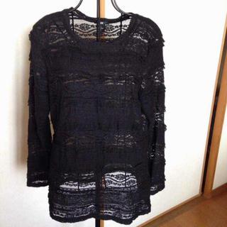 エイチアンドエム(H&M)のレースシャッツ(Tシャツ(長袖/七分))