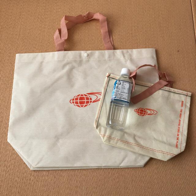 BEAMS(ビームス)のビームス ショップ袋 2枚 レディースのバッグ(ショップ袋)の商品写真