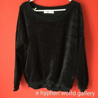 E hyphen world gallery - e hyphen world gallery カットソー