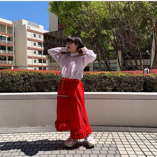 ケイスケカンダ(keisuke kanda)のkeisuke kandaのリメイクスカート(ひざ丈スカート)