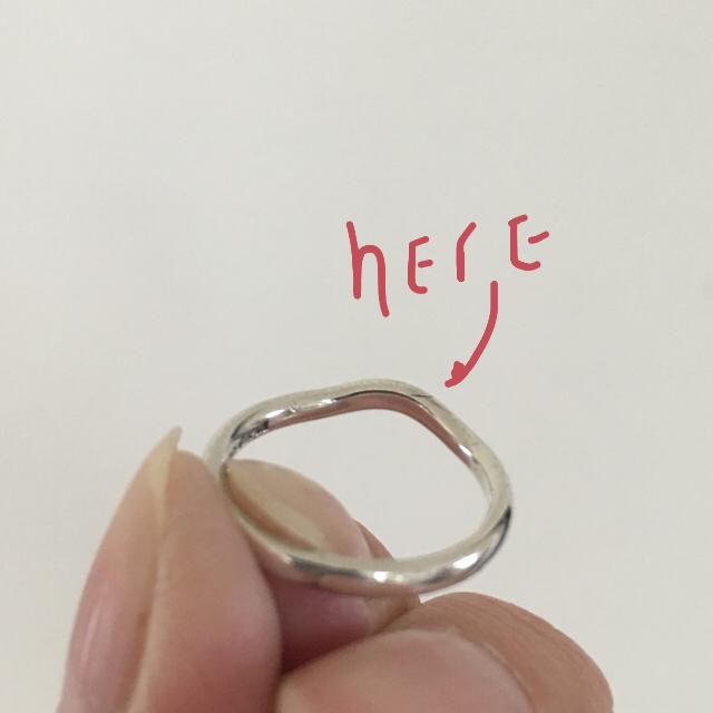 Tiffany & Co.(ティファニー)のティファニー ウェーブ リング レディースのアクセサリー(リング(指輪))の商品写真