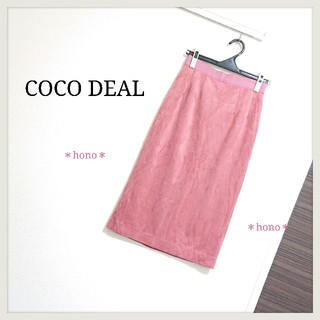 COCO DEAL - COCO DEAL*スエードタイトスカート