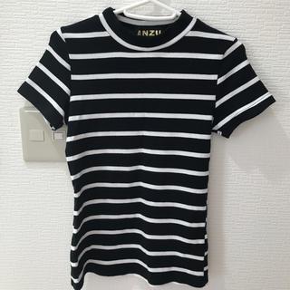 アンズ(ANZU)のボーダーT(Tシャツ(半袖/袖なし))