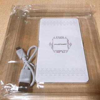 ジルスチュアート(JILLSTUART)のジルスチュアート 充電器(バッテリー/充電器)