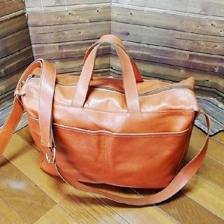イルビゾンテ(IL BISONTE)のIL BISONTE メンズ ショルダー バッグ 定価¥100000(ショルダーバッグ)
