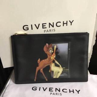 ジバンシィ(GIVENCHY)の新品 GIVENCHY バンビ柄 クラッチバッグ(クラッチバッグ)