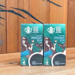 Starbucks Coffee - スターバックス ヴィア アニバーサリー ブレンド スタバ インスタントコーヒー
