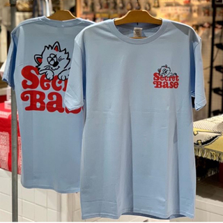 シークレットベース(SECRETBASE)のVERDY SECRETBASE RIGHT BLUE Tシャツ サイズM(Tシャツ/カットソー(半袖/袖なし))