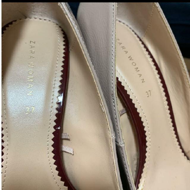 ZARA(ザラ)のZARA ハイヒールパンプス 37 レディースの靴/シューズ(ハイヒール/パンプス)の商品写真