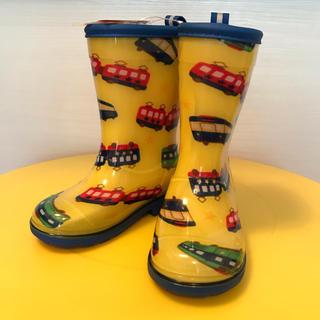 ミキハウス(mikihouse)のミキハウス レインブーツ 長靴 新品未使用 14cm 箱あり(長靴/レインシューズ)