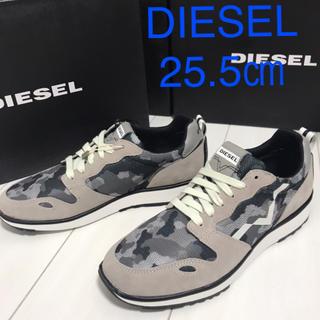 DIESEL - DIESEL ディーゼル スニーカー  新品箱付き 靴 25.5㎝