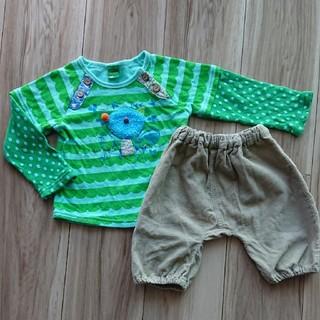 ラグマート(RAG MART)の長袖シャツ パンツ 2枚セット 80(Tシャツ)