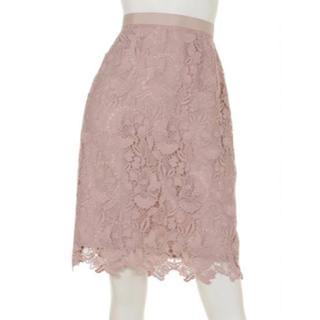 JUSGLITTY - jusglitty カラーレーススカート