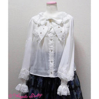 Angelic Pretty - Angelie Pretty Milky Cross ブラウス