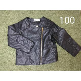 エイチアンドエム(H&M)の100 ライダースジャケット(ジャケット/上着)