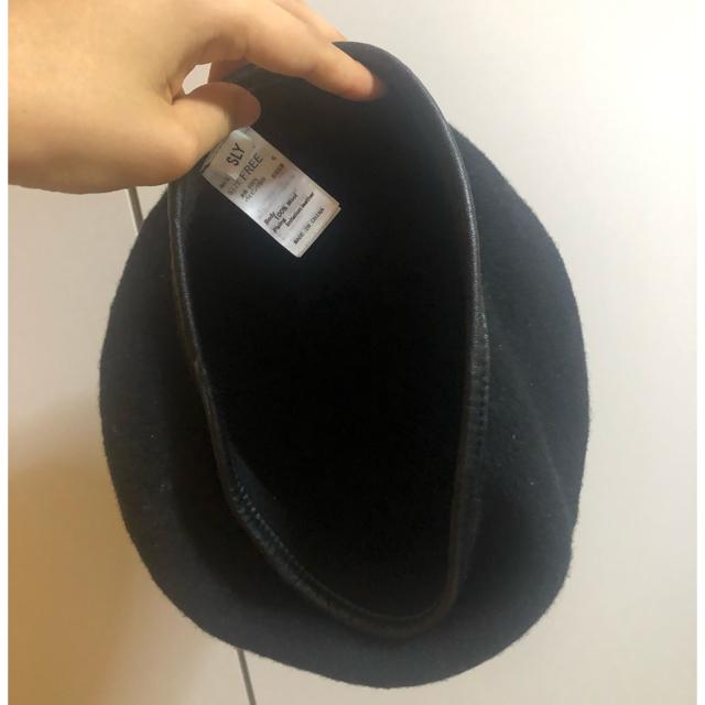 SLY(スライ)のSLY パイピングベレー レディースの帽子(ハンチング/ベレー帽)の商品写真