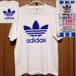 adidas - 激レア 両面ビッグロゴ! adidas Tシャツ