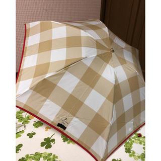 ランバンオンブルー(LANVIN en Bleu)の新品ランバンオンブルー 折りたたみ雨傘(傘)