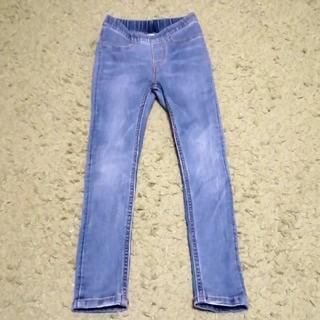 エイチアンドエム(H&M)のデニム風レギンスパンツ 110cm H&M(パンツ/スパッツ)