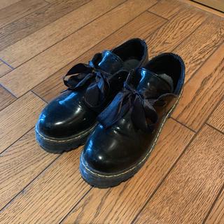 ディーホリック(dholic)の美品リボンローファー(ローファー/革靴)