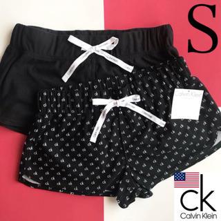 カルバンクライン(Calvin Klein)のレア 新品 Calvin Klein USA ショートパンツ 2枚 S 下着(その他)