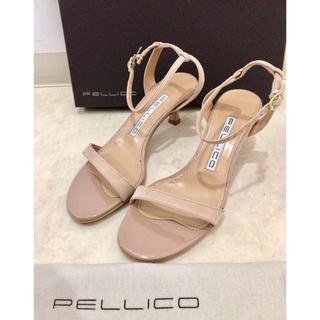 ペリーコ(PELLICO)の美品 PELLICO ペリーコ SAMI50 サンダル 35 アンティーク(サンダル)