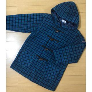 familiar - オールドfamiliar 150cm 緑チェック 冬コート
