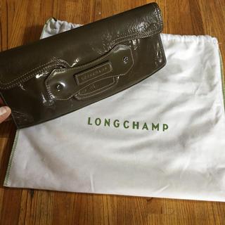 LONGCHAMP - ☆送料込☆ロンシャン☆クラッチバッグ☆