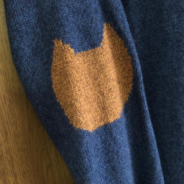 TSUMORI CHISATO(ツモリチサト)のツモリチサト ニットワンピ cats レディースのワンピース(ひざ丈ワンピース)の商品写真