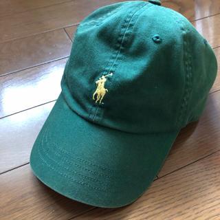 Ralph Lauren - ラルフローレン  キャップ 帽子 緑 グリーン