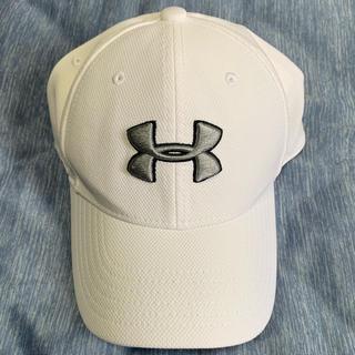 アンダーアーマー(UNDER ARMOUR)のアンダーアーマー 白(帽子)