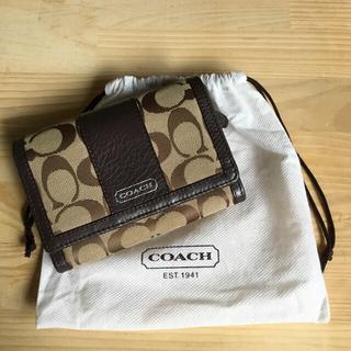 COACH - COACH 2つ折り財布