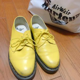 ドクターマーチン(Dr.Martens)のHHh様専用ドクターマーチン 3ホール イエロー(ローファー/革靴)
