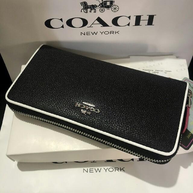 COACH(コーチ)のCOACH 最新モデル 超人気 長財布国内発送F12585 メンズのファッション小物(長財布)の商品写真