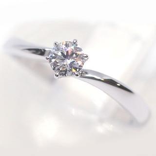 ヨンドシー(4℃)の4℃ ヨンドシー Pt950 プラチナ ダイヤモンド0.206ct リング(リング(指輪))