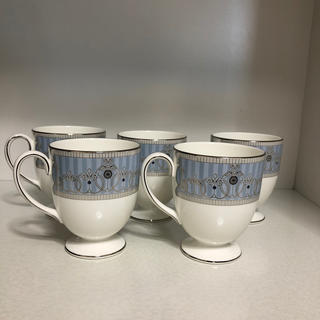 ウェッジウッド(WEDGWOOD)のWEDGWOOD アレクサンドラ マグカップ5個セット(グラス/カップ)