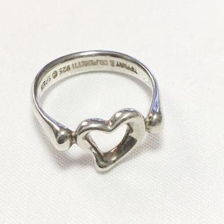 ティファニー(Tiffany & Co.)のティファニー Tiffany リング 指輪 ハート シルバー お洒落 可愛い(リング(指輪))