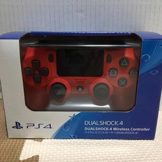 PlayStation4 - ワイヤレスコントローラー(マグマ・レッド)