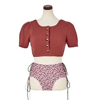 snidel - Back Ribbon Poolside Wear