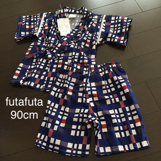 フタフタ(futafuta)のfutafuta の甚平90cm(甚平/浴衣)
