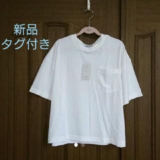 新品 Tシャツ 白(Tシャツ(半袖/袖なし))