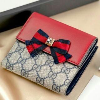 Gucci - GUCCI★リボンデザイン財布 グッチ