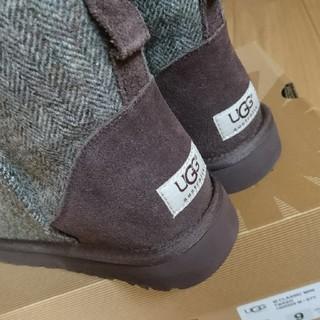 アグ(UGG)の新品♥️UGG  M クラッシック ミニ ツイード(ブーツ)