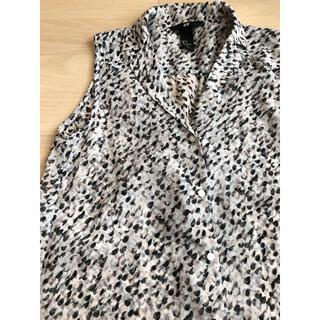 エイチアンドエム(H&M)のH&M  ノースリーブシャツ(シャツ/ブラウス(半袖/袖なし))