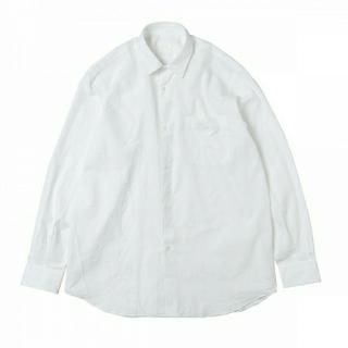 COMOLI - 19AW 新品 COMOLI コモリシャツ 白 サイズ1 シャツ