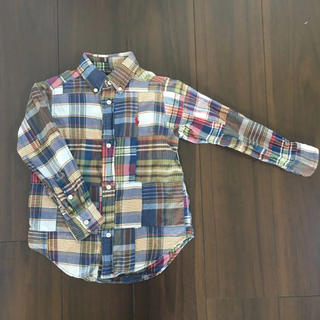 Ralph Lauren - 🇺🇸ラルフローレン チェックシャツ 100㎝