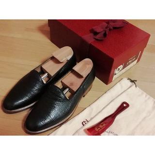 マルタンマルジェラ(Maison Martin Margiela)のLe Yucca's レユッカス レザー スリッポン ブーツ 付属品完備!!(ドレス/ビジネス)