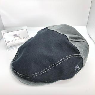バーバリーブルーレーベル(BURBERRY BLUE LABEL)のBURBERRY バーバリー ハンチング 帽子 正規品(ハンチング/ベレー帽)