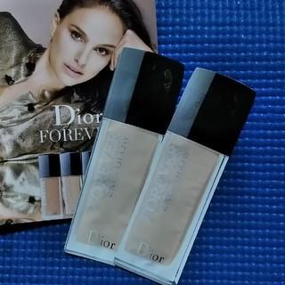 ディオール(Dior)のディオール スキン フォーエヴァー フルイド スキングロウ サンプル(ファンデーション)