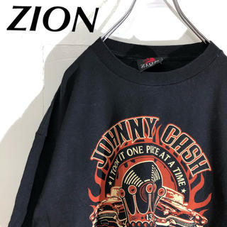 Tシャツ ZION 流行柄 XL(Tシャツ/カットソー(半袖/袖なし))